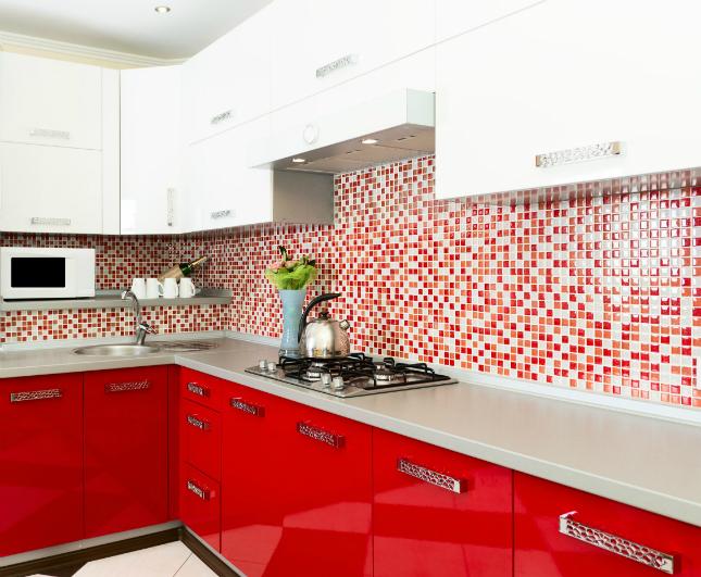 3-room HDB interior design - Kitchen