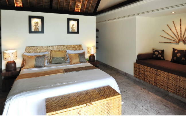 Balinese interior design - Bedroom
