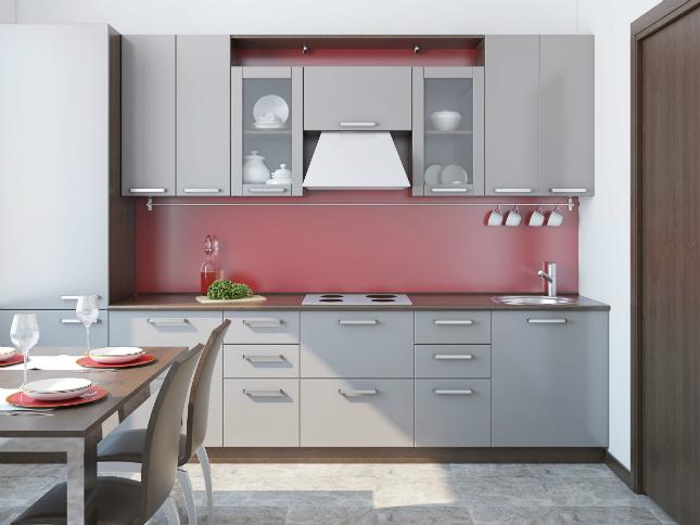 Kitchen Design - One-Wall Kitchen