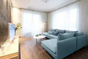 4-room HDB interior design - Living Room