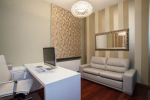 4-room HDB interior design - Home Office
