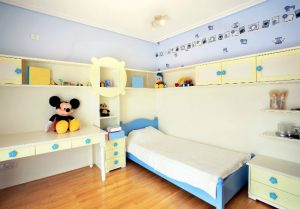 4-room HDB interior design - Kid's Bedroom