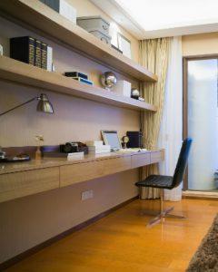 4-room HDB interior design - Study Room