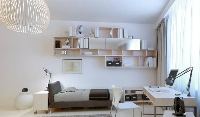 3-room HDB interior design - Bedroom