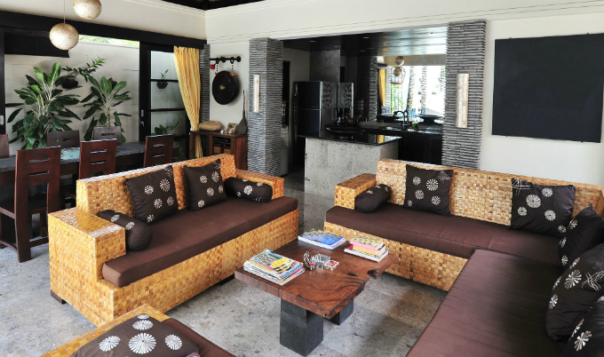 Balinese interior design - Living Room