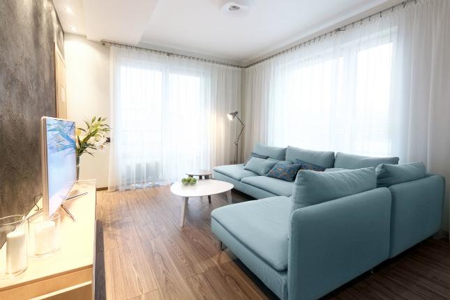 4-room HDB interior design - Living Room